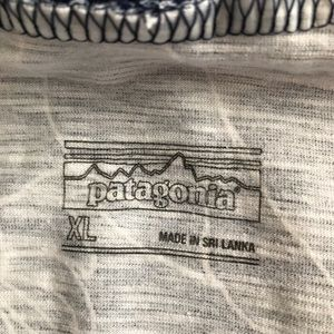 Patagonia Dresses - Patagonia summer dress XL blue & white floral